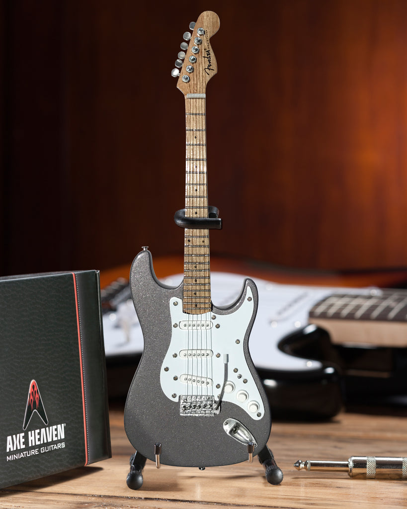 Eric's Signature Pewter Mini Fender™ Strat™ Guitar Replica - Officially Licensed