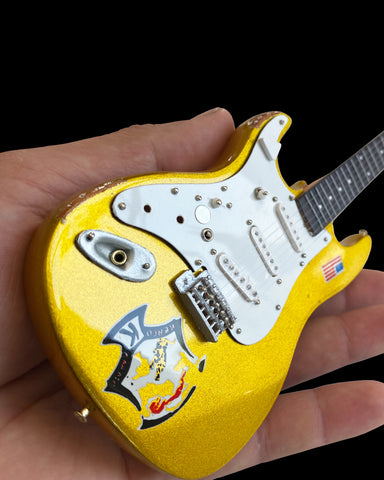 "Dick Dale Fender™ Strat™ - ""Beast"" Gold Sparkle Guitar Model Replica"