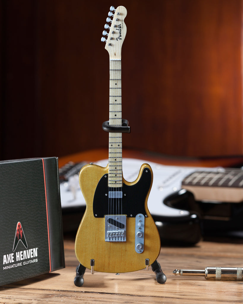 Officially Licensed Miniature Butterscotch Blonde Fender™ Telecaster™ Guitar Replica