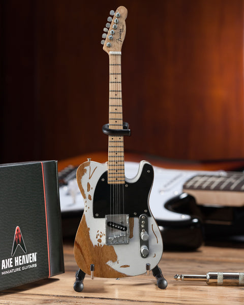 Officially Licensed Miniature Fender™ Vintage Esquire Tele™ Guitar Replica - Jeff Beck
