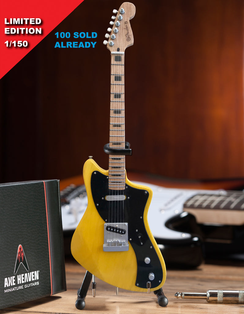 LIMITED 1 of 150 - Fender™ Parallel Universe Blonde Meteora Mini Guitar Model