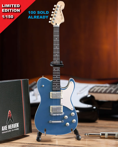LIMITED 1 of 150 - *Licensed  Fender™Parallel Universe Troublemaker Tele Blue Mini Guitar Model