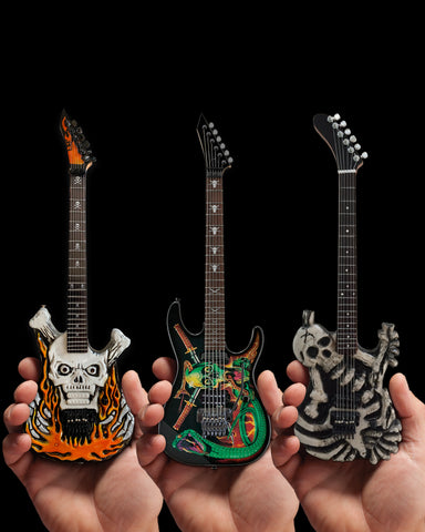 Set of 3 Signature George Lynch ESP™ Miniature Guitars
