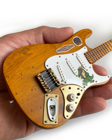 Jerry Garcia™ Alligator™ Graham Nash Tribute Mini Guitar Fender™ Strat™ Replica - OFFICIALLY LICENSED