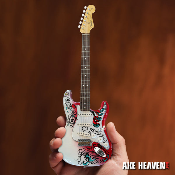 Set of 3 Signature Jimi Hendrix Fender™ Stratocaster™ Mini Guitars