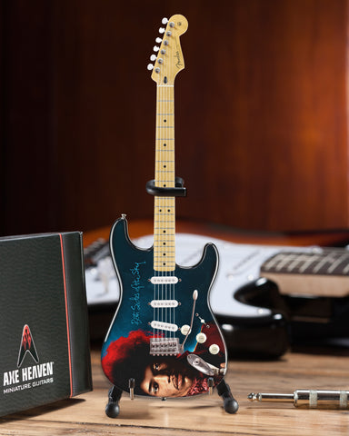 Jimi Hendrix Both Sides of the Sky Mini Fender™ Strat™ Guitar Model Officially Licensed