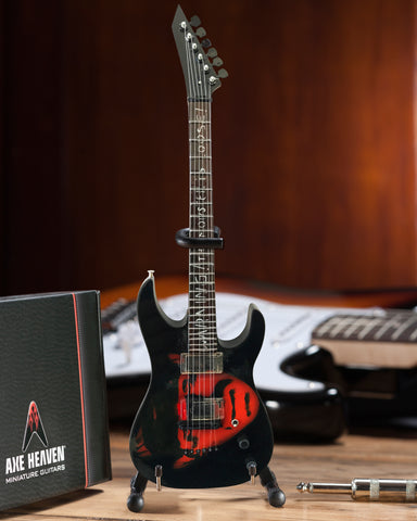 "Kirk Hammett ""Frankenstein"" Miniature Guitar Replica Collectible"
