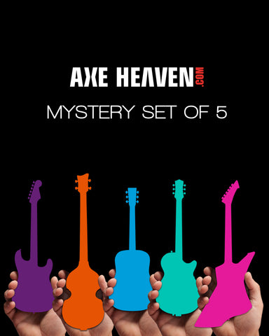 MYSTERY SET of 5 Mini Guitars - RARE Limited Models! - NEW IN THE BOX!