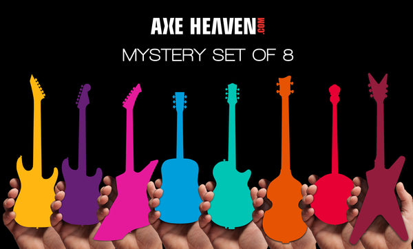 MYSTERY BOX of 8 Mini Guitars - RARE Limited Models! - NEW IN THE BOX!