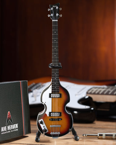 Paul's Original Violin Bass Miniature Guitar Replica - Fab Four