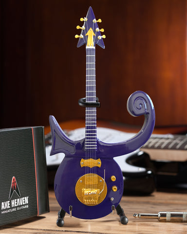 Formerly The Artist Known As - Signature Purple Symbol Mini Guitar Replica
