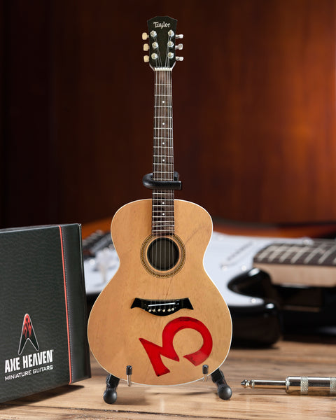 Officially Licensed Third Eye Blind Stephan Jenkins Miniature Acoustic Guitar Model