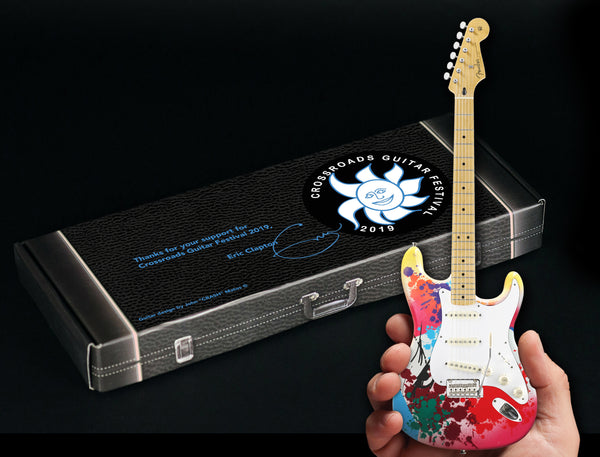 Eric Clapton Limited-Edition 2019 Crossroads Guitar Festival Crashocaster Fender™ Strat™ Mini Guitar