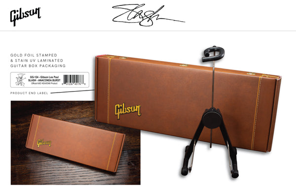Slash Gibson J-45 November Burst Acoustic 1:4 Scale Mini Guitar Model - LIMITED QUANTITY