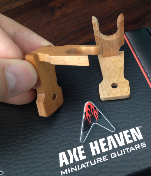 Wallmount Miniature Guitar Wall Hangers by AXE HEAVEN® – Set of 2