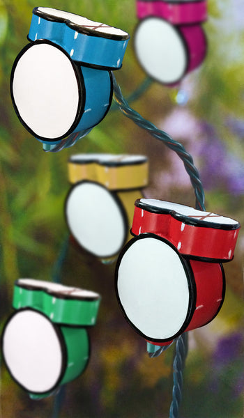 Drum Set Party Lights