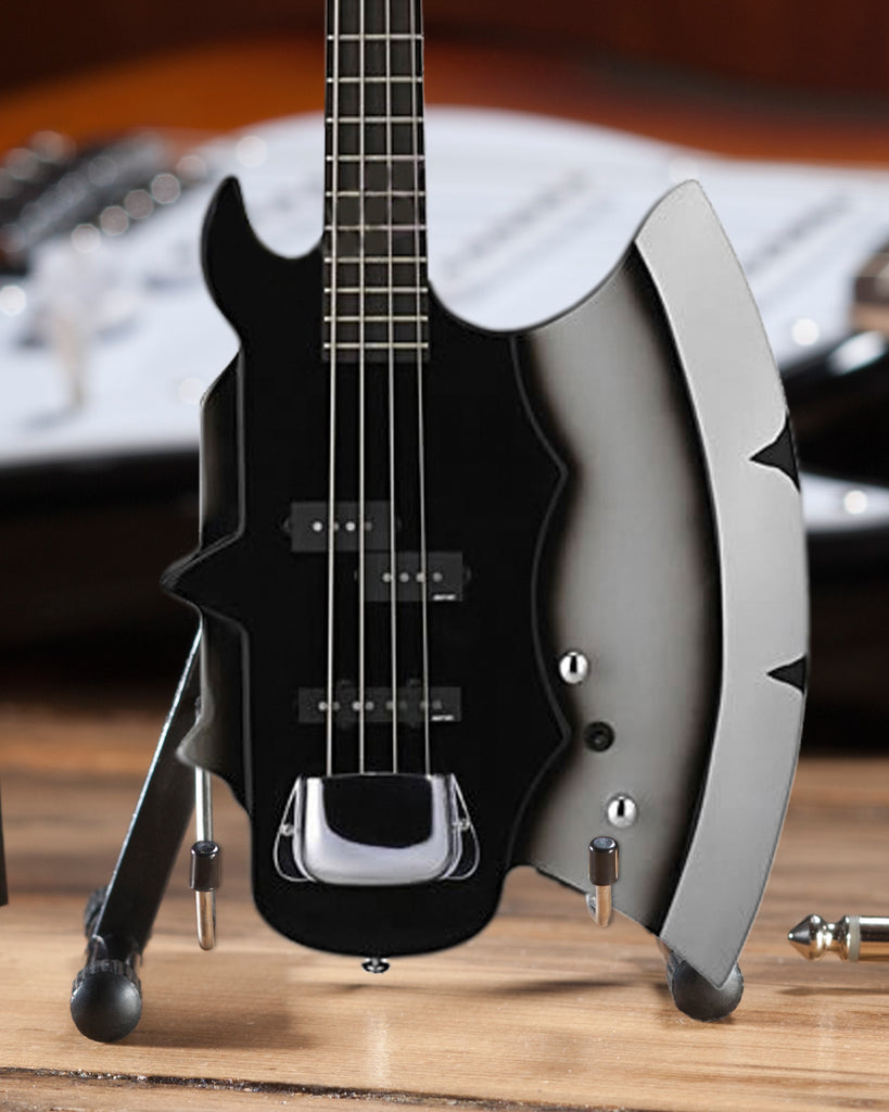 Officially Licensed Kiss Gene Simmons Signature Axe Bass