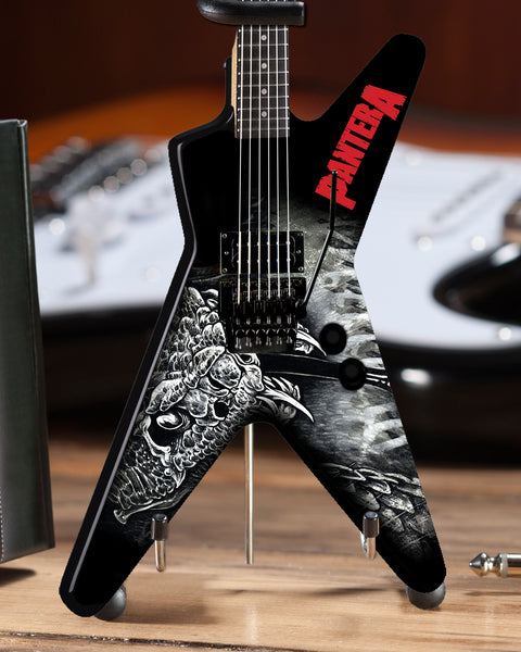 Dimebag Pantera Black & White Southern Trendkill Dean ML Mini Guitar Model - ARTIST PROOF EDITION