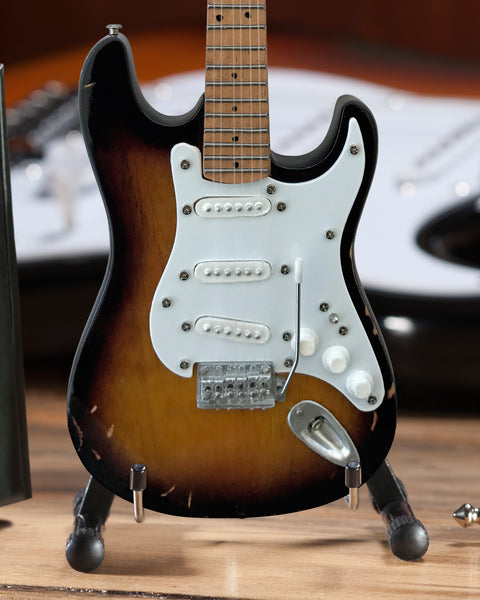 Eric's Famous Brownie Signature Mini Fender™ Strat™ Guitar Replica - Officially Licensed