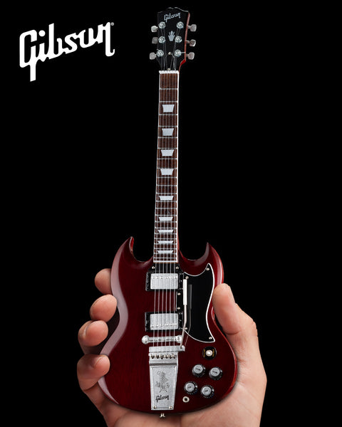 Gibson 1964 SG Standard Cherry 1:4 Scale Mini Guitar Model