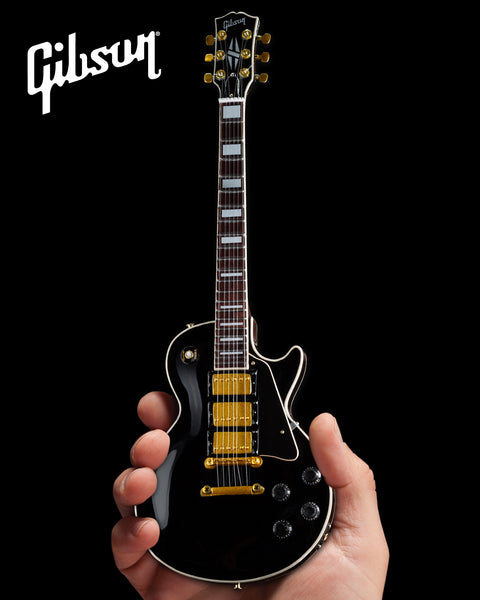 Gibson Les Paul Custom Ebony 1:4 Scale Mini Guitar Model