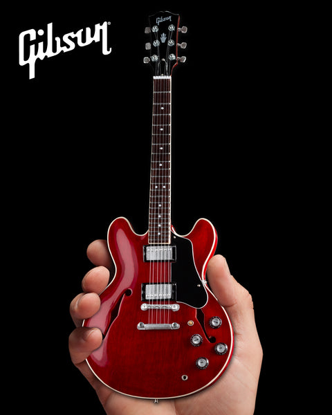 Gibson ES-335 Faded Cherry 1:4 Scale Mini Guitar Model