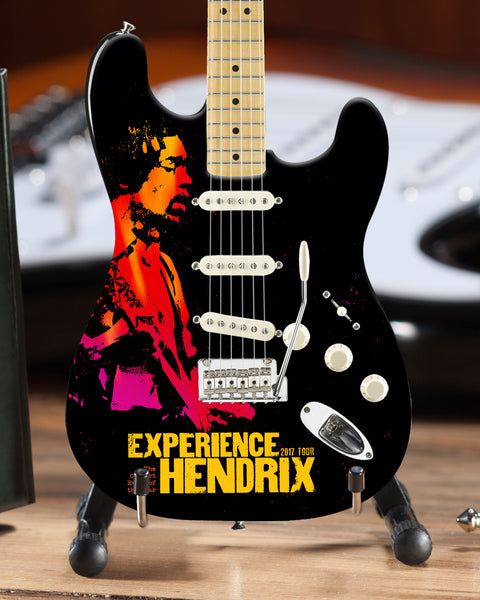 2017 Limited Edition Experience Hendrix Tour Fender™ Strat™ Mini Guitar