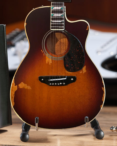 Toby Keith Signature Sunburst Acoustic Mini Guitar Model