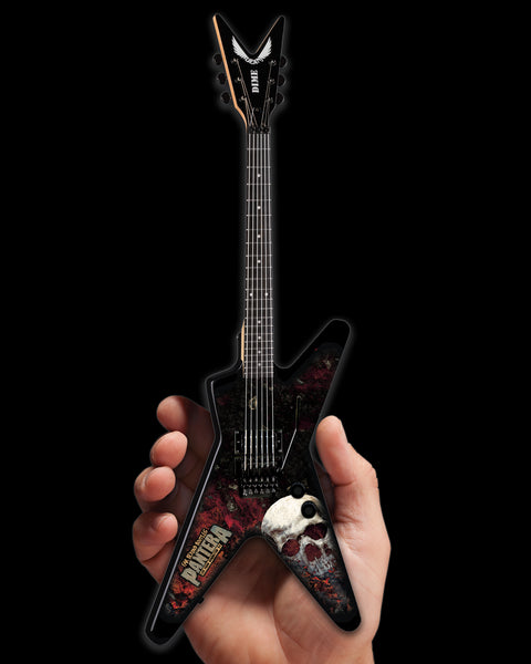 Dean Dimebag Pantera Far Beyond Bootleg Graphic ML Miniature Guitar Model - ARTIST PROOF EDITION
