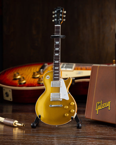 Gibson 1957 Les Paul Gold Top 1:4 Scale Mini Guitar Model