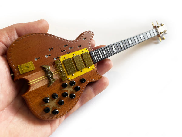 "Phil Lesh Alembic Osiris ""Mission Control"" Miniature Bass Handmade Model"