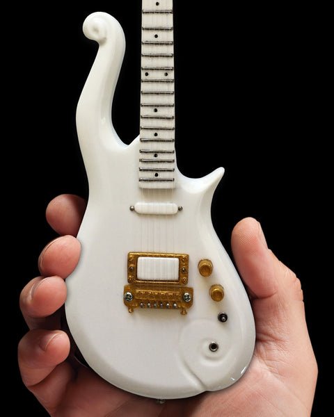 The Artist Formerly Known as - Signature White Cloud Mini Guitar Replica