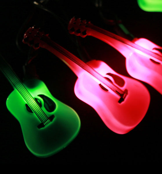 Electric Guitar Party Lights - Double Cutaway
