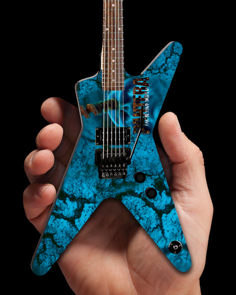 "Dean Dimebag Pantera ""Driven"" FBD ML Miniature Guitar Model - ARTIST PROOF EDITION"