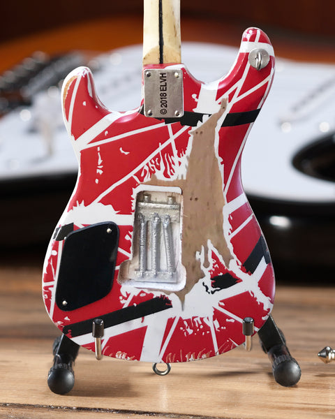 *NEW - EVH 5150 Eddie Van Halen Mini Guitar Replica Collectible - Officially Licensed