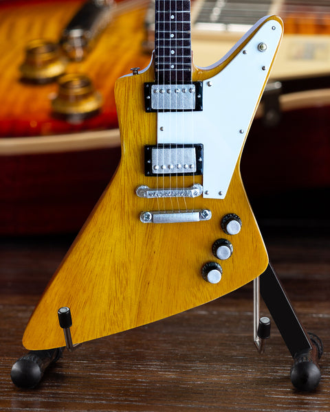 Gibson Korina Explorer 1:4 Scale Mini Guitar Model