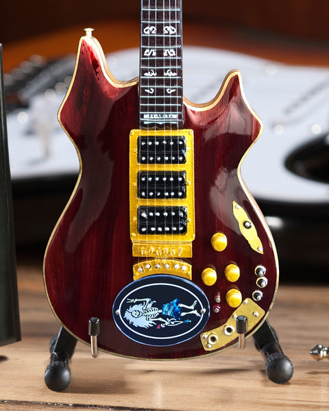 Jerry Garcia™ Rosebud™ Tribute Mini Guitar Replica - OFFICIALLY LICENSED