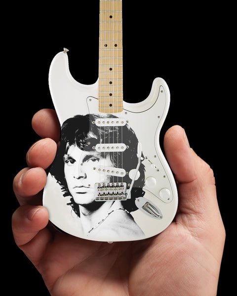 Licensed Jim Morrison Tribute Fender™ Strat™ Guitar Replica - Radio Days