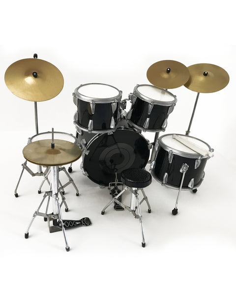 Roger Taylor News of The World Robo Queen Mini Drum Set Replica Collectible