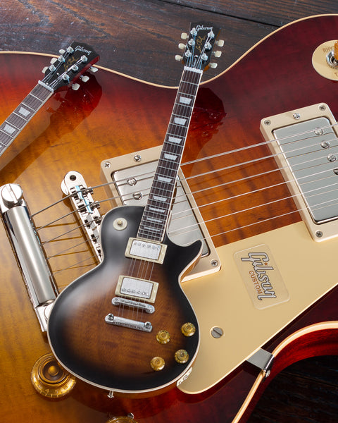 Gibson Les Paul Traditional Tobacco Burst 1:4 Scale Mini Guitar Model