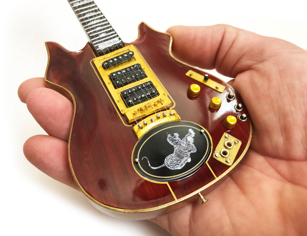 Jerry Garcia™ Tiger™ Tribute Mini Guitar Replica - OFFICIALLY LICENSED