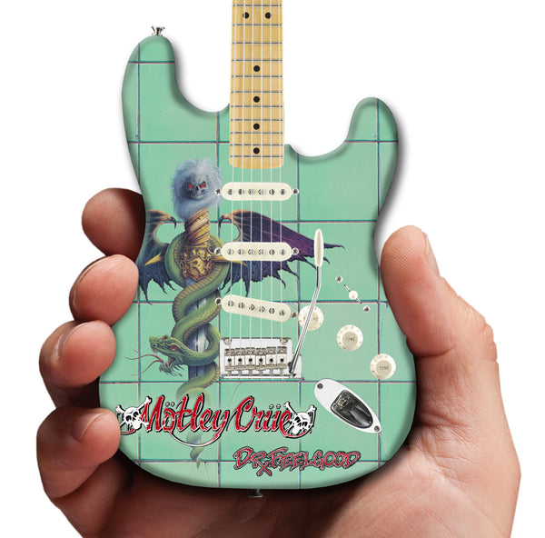 Motley Crue 30th Anniversary Dr. Feelgood Fender™ Stratocaster™ Mini Guitar