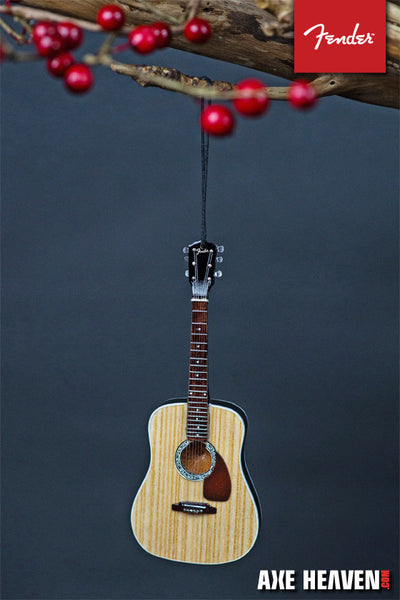 "6"" FENDER PD-1 Dreadnought Acoustic Guitar Ornament"