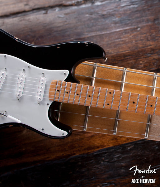 Eric's Vintage Blackie Fender™ Strat™ Miniature Guitar Replica - Officially Licensed