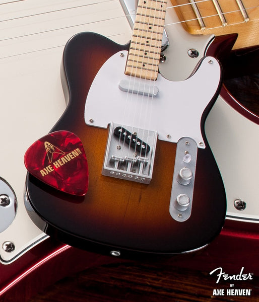 Fender™ Sunburst Telecaster™ Classic Miniature Guitar Replica - Officially Licensed