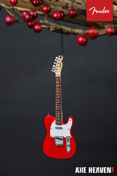"6"" FENDER 50s Red Telecaster Mini Guitar Ornament"