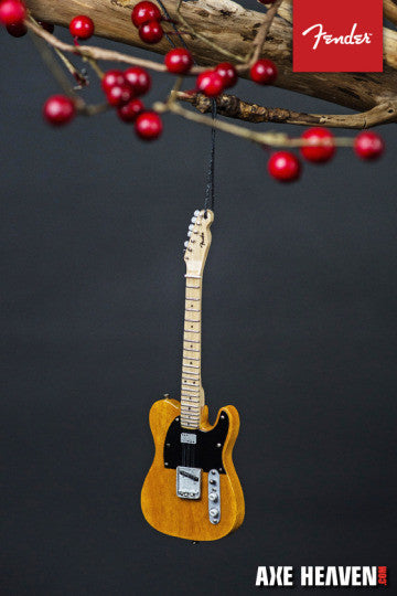 "6"" FENDER 50s Blonde Telecaster Guitar Holiday Ornament"