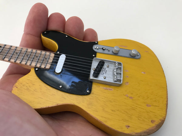"LIMITED 1 of 50 - 1953 Roy Buchanan Fender™ Tele™ ""Nancy"" Mini Guitar Model Replica"