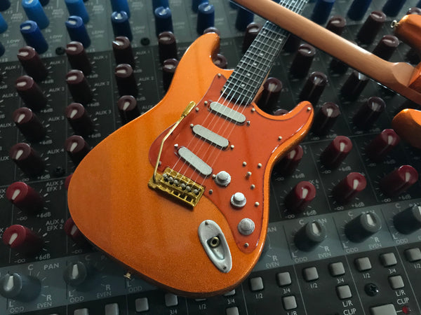 Officially Licensed Kenny Wayne Shepherd Mini Fender™ Strat™ Copperboy Guitar Model