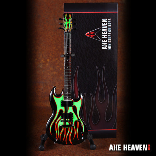 James Hetfield Signature Grynch Miniature Guitar Replica Collectible